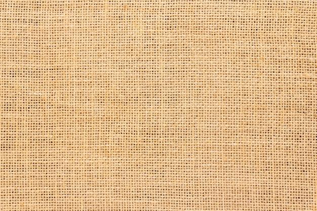 黄麻布の背景とテクスチャー Premium写真
