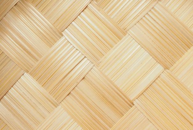 Абстрактный ткать бамбука текстуру фона Premium Фотографии