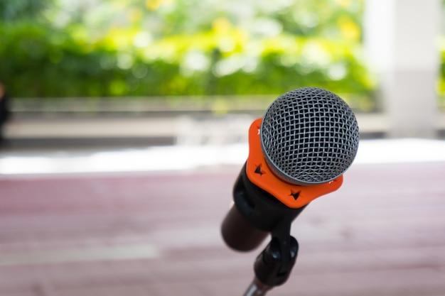 Микрофон на подставке Premium Фотографии