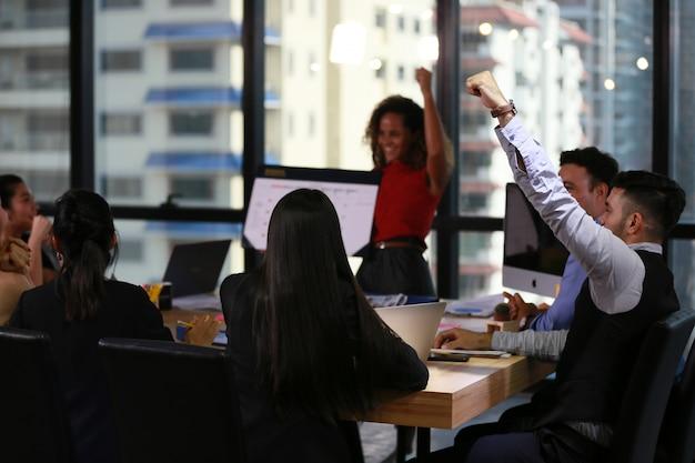 職業ビジネス専門職の集まり、スタートアップ Premium写真