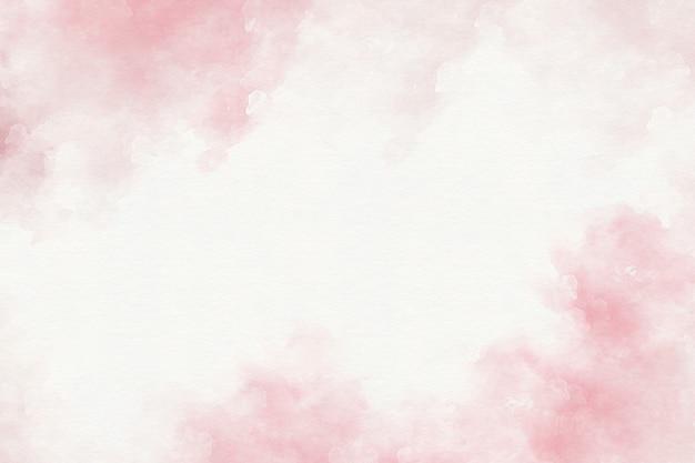 Розовая акварель абстрактный фон Premium Фотографии