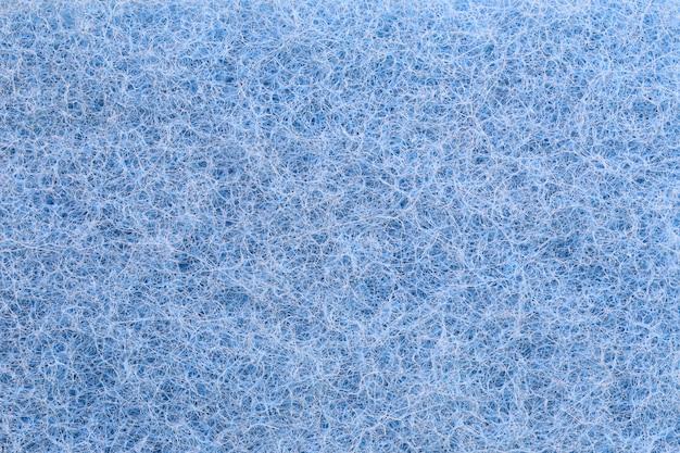 Синие пластиковые волокна текстуры фона. Premium Фотографии