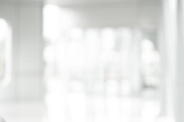 白の抽象的な背景をぼかし Premium写真