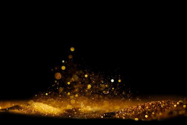 Фон старинные огни блеск. Premium Фотографии