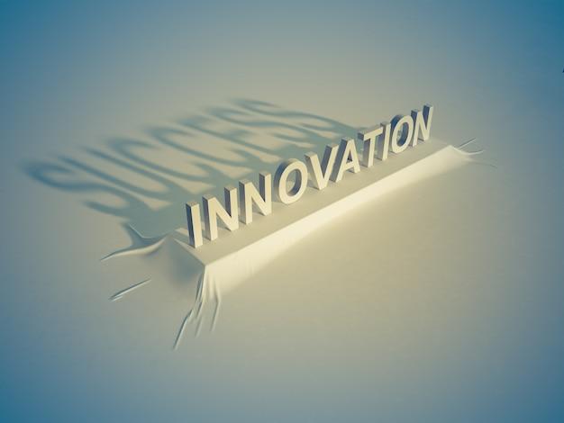 イノベーション=成功 Premium写真