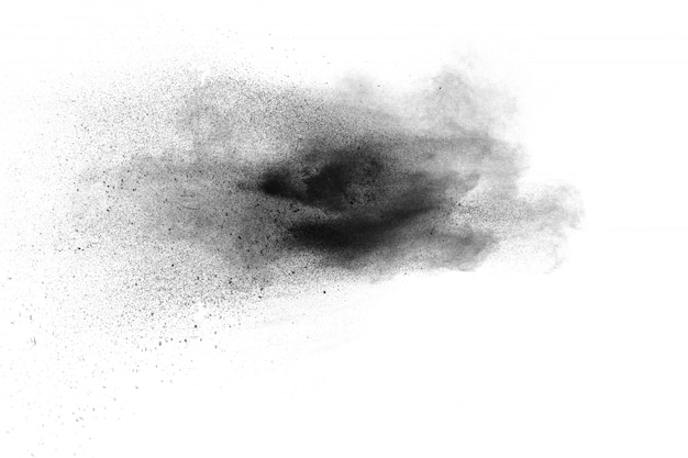 粉塵スプラッシュバックグラウンド Premium写真