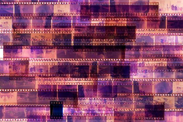古い映画のスタック Premium写真