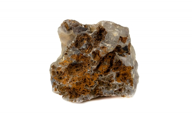 工業用アクセサリーのカルセドニーの石 Premium写真