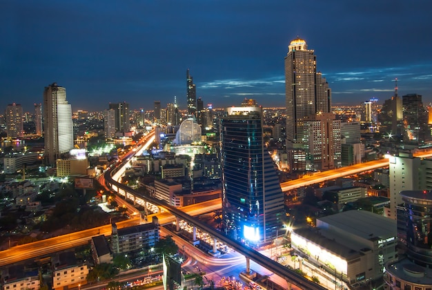 Город бангкок Premium Фотографии