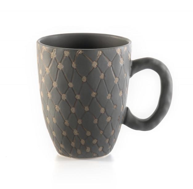 空の一杯のコーヒーまたはマグカップ Premium写真