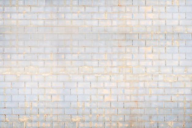 レンガの壁のパターン、ヴィンテージの古いレンガの壁のテクスチャグランジ背景 Premium写真