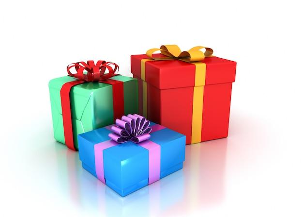 Набор подарков на день рождения Premium Фотографии