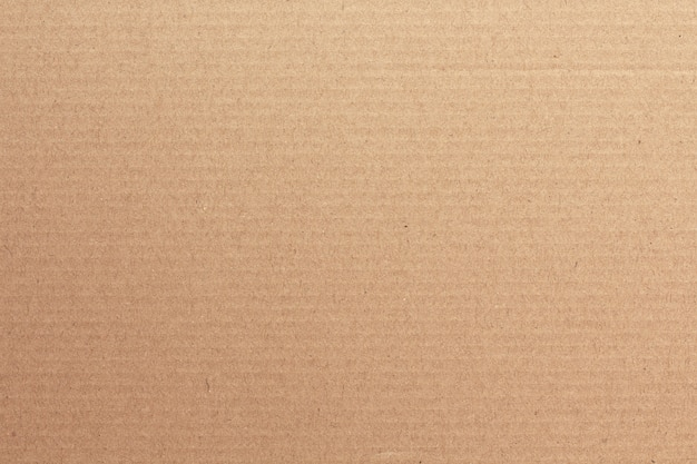 茶色の段ボールシートの抽象的な背景 Premium写真