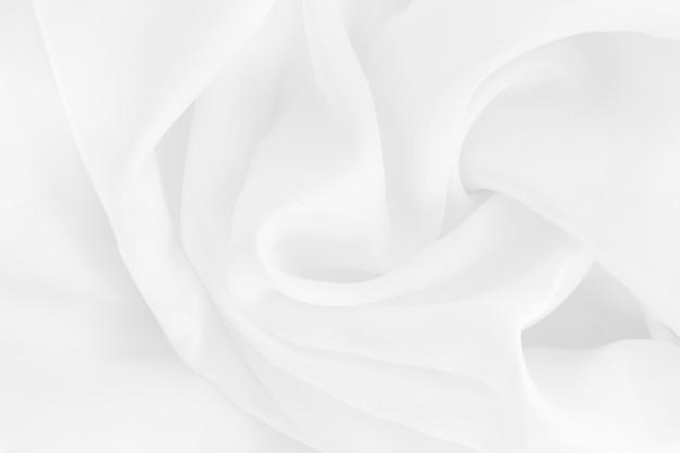 Текстура белой ткани Premium Фотографии