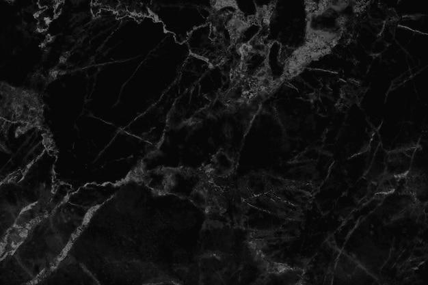 自然なパターンで黒灰色の大理石のテクスチャ背景 Premium写真