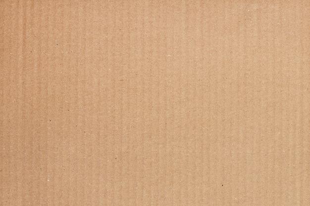 茶色の段ボールシートの抽象的な背景、リサイクル紙箱のテクスチャ Premium写真