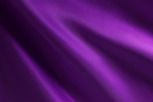 紫の布の布のテクスチャとデザインアート作品、シルクやリネンの美しいしわくちゃのパターン。 Premium写真