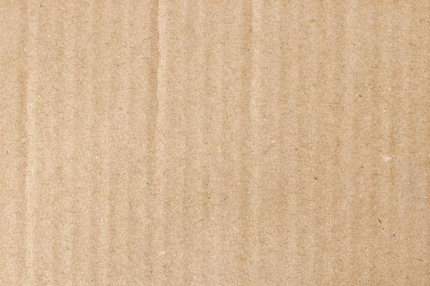 デザインアート作品の古いビンテージパターンでリサイクル紙箱の茶色の段ボールシート抽象、テクスチャ。 Premium写真
