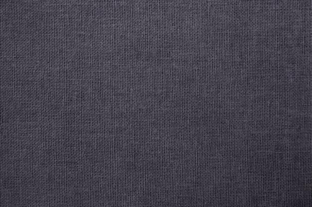 Серая текстура хлопчатобумажной ткани, бесшовные из натурального текстиля Premium Фотографии