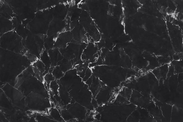 Черный серый мрамор текстура фон, плитка роскошный каменный пол Premium Фотографии