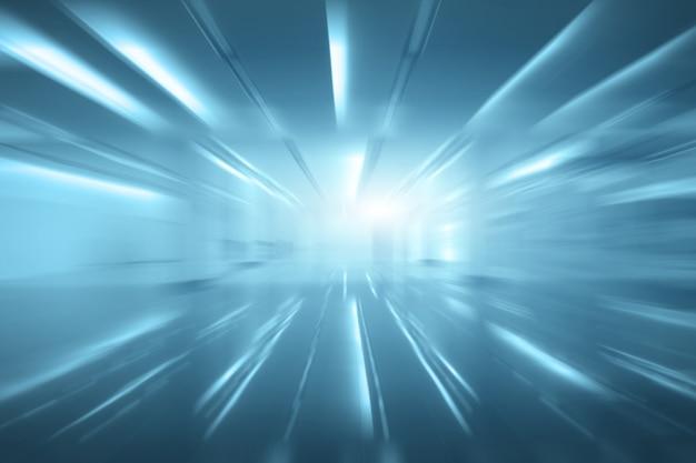空の空間のぼけ(明るい部屋の空の壁) Premium写真
