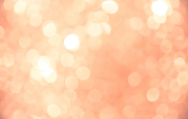 抽象的な背景ピンク黄金背景ボケ Premium写真
