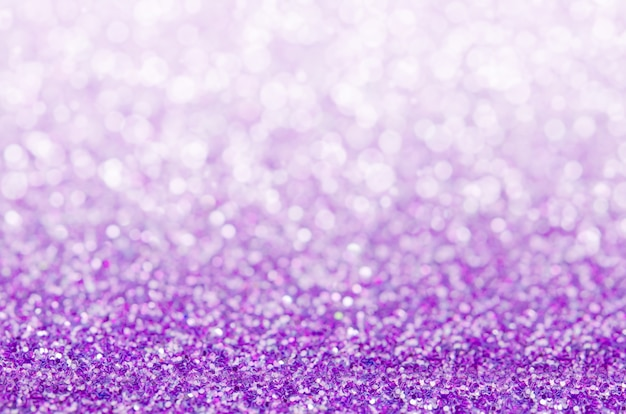 Фиолетовый абстрактный фон, фиолетовый фон боке Premium Фотографии