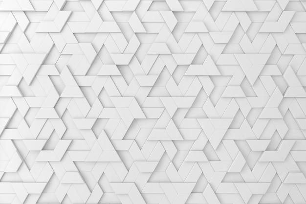 Белый трехмерный фон Premium Фотографии