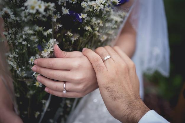 新婚夫婦 Premium写真