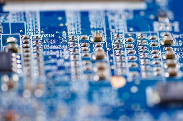 コンピュータ回路メインボード技術 Premium写真