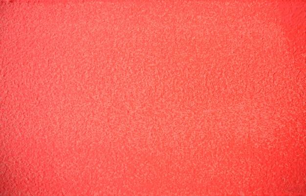 Живой коралловый цвет окрашенный бетон Premium Фотографии