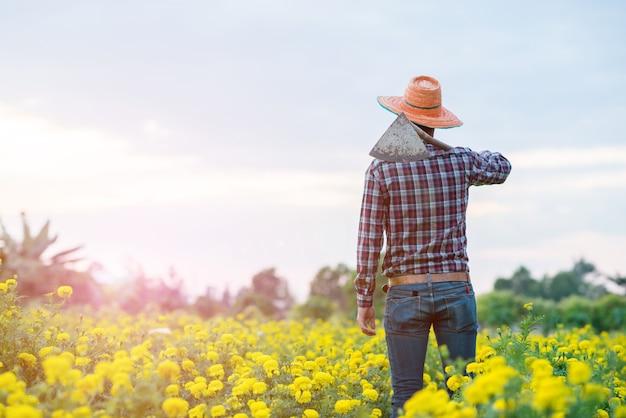 農家の農家 Premium写真
