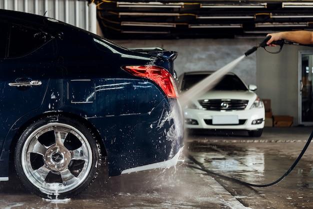 Чистка автомобиля (автосервис) в автосервисе Premium Фотографии
