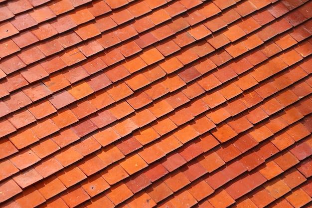 屋根瓦の背景 Premium写真