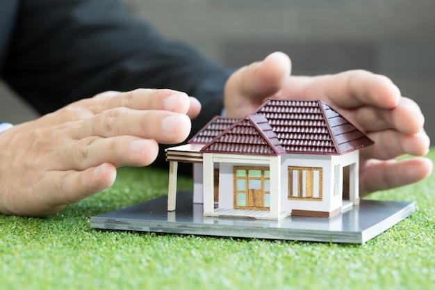 住宅保険のコンセプト Premium写真