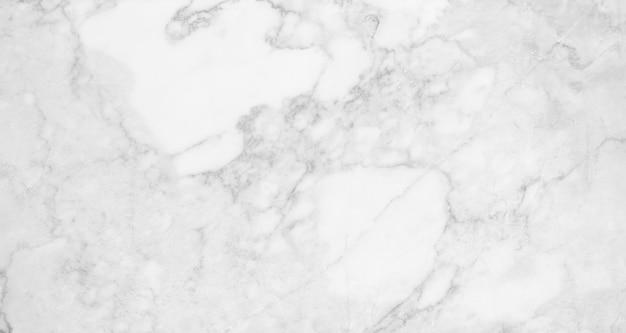 白い大理石のテクスチャの背景、抽象的な大理石のテクスチャ(自然のパターン) Premium写真