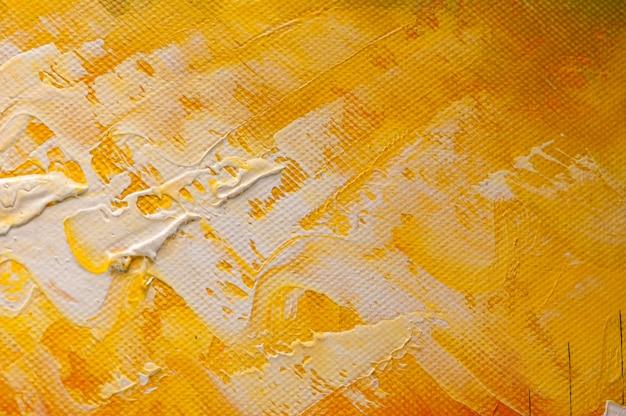 油絵抽象的なアクリルアートの背景 Premium写真