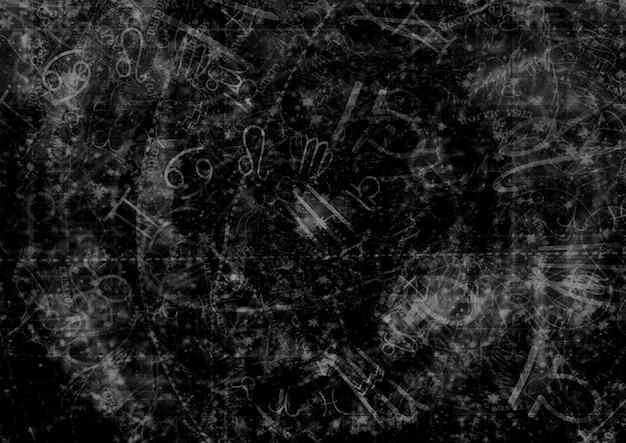 Гороскоп астолог фон Premium Фотографии