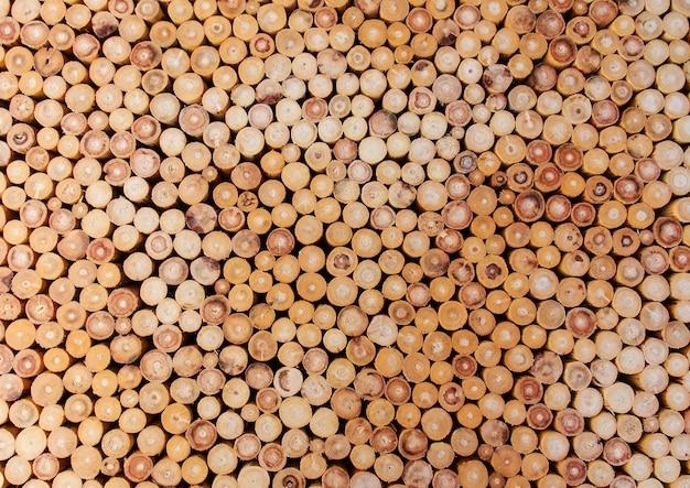 木材杭 Premium写真