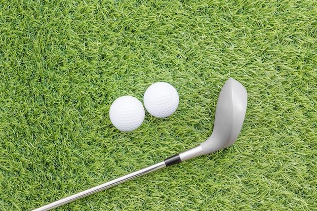 ゴルフ用品に関連するスポーツ用品 Premium写真