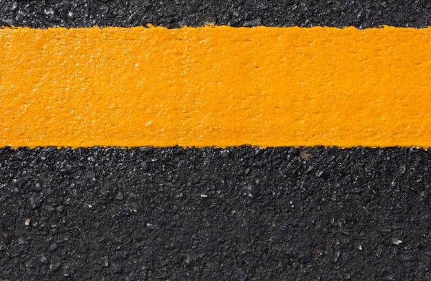 抽象的な背景としてアスファルト道路 Premium写真