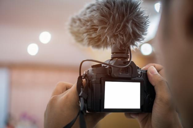 カメラレコーディング用のビデオまたはプロ用デジタルミラー Premium写真