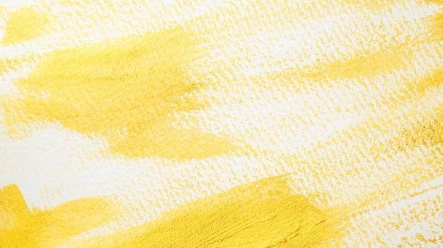 白い背景の上の金色のポスター水彩画。 Premium写真