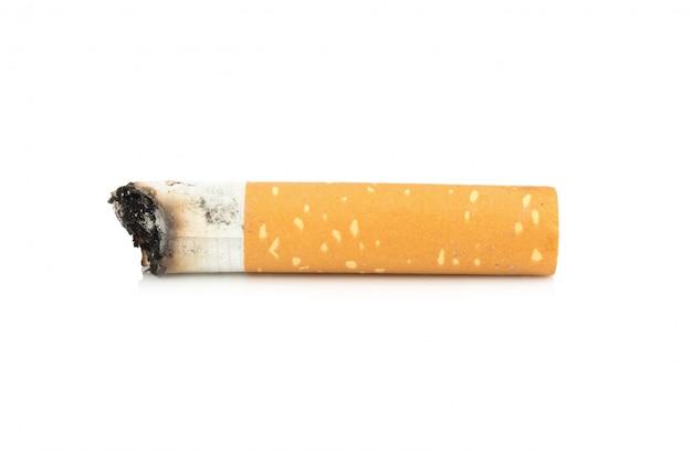 たばこの吸い殻 Premium写真