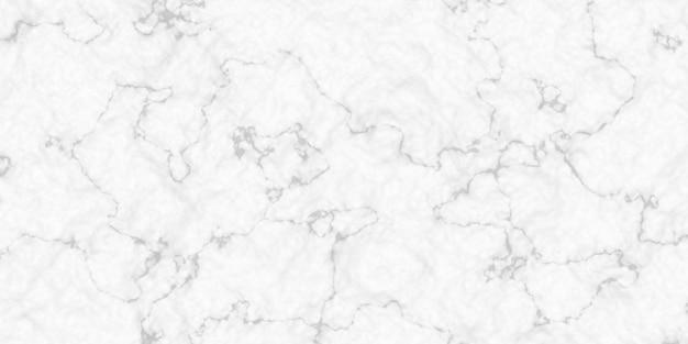 白の大理石の花崗岩の床パノラマの背景 Premium写真