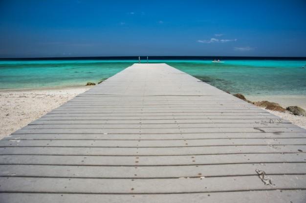 ビーチへの道 無料写真