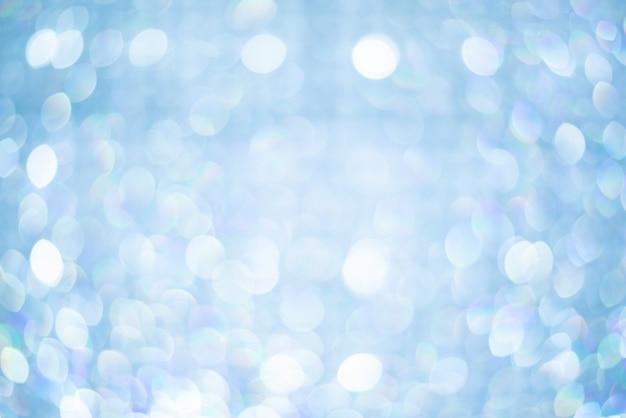 抽象的な背景、ボケ味がぼやけて美しい光沢のあるライト Premium写真