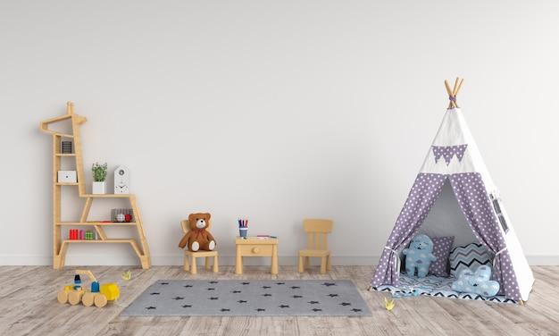 子供部屋のインテリアでティーピー Premium写真