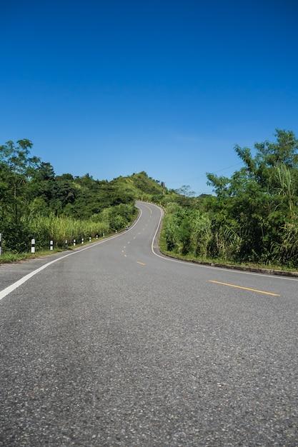 山への道 Premium写真