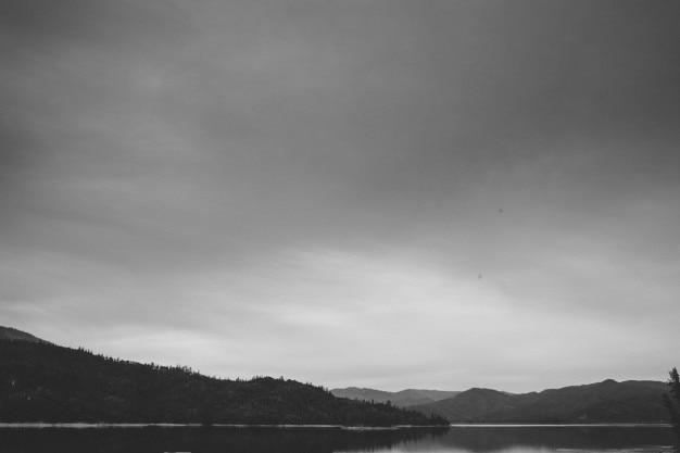 遠くの風景 無料写真